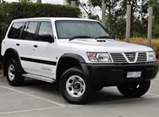 4x4 Nissan Patrol for Hire